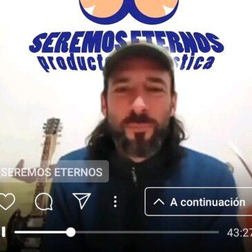 Luis Kams (músico) / Conversaciones en cuarentena